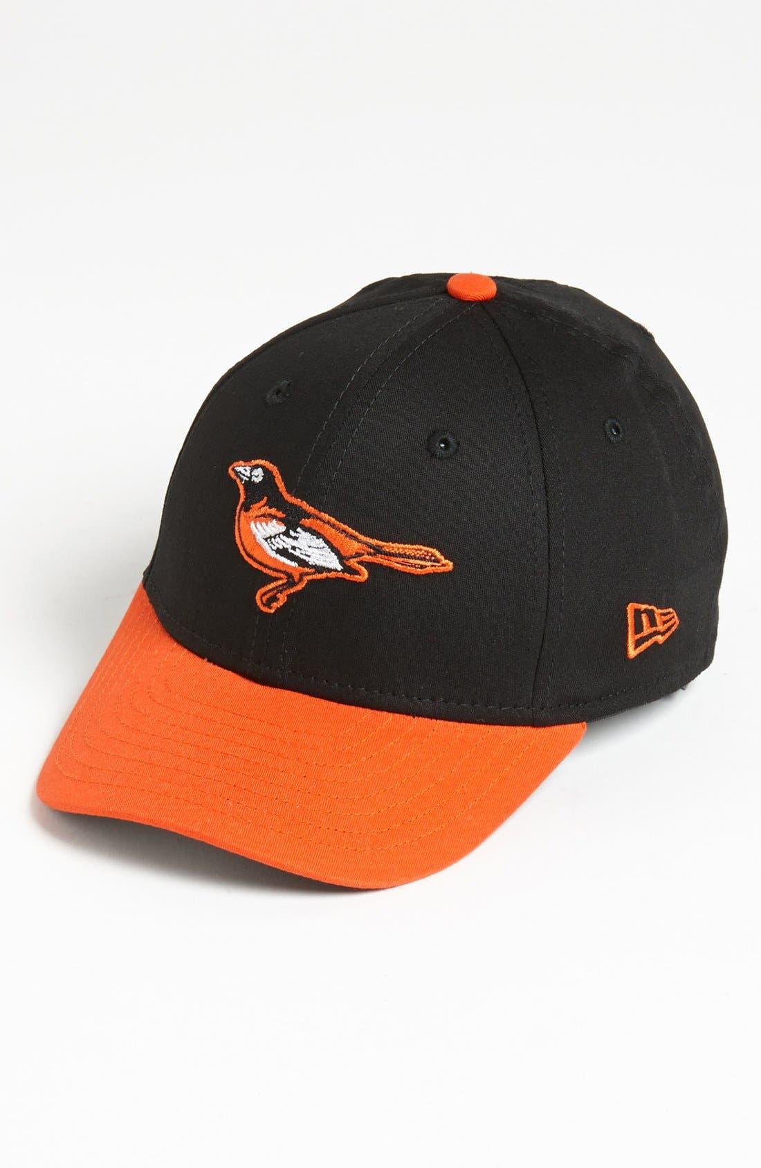 Alternate Image 1 Selected - New Era Cap 'Baltimore Orioles - Tie Breaker' Baseball Cap (Big Boys)