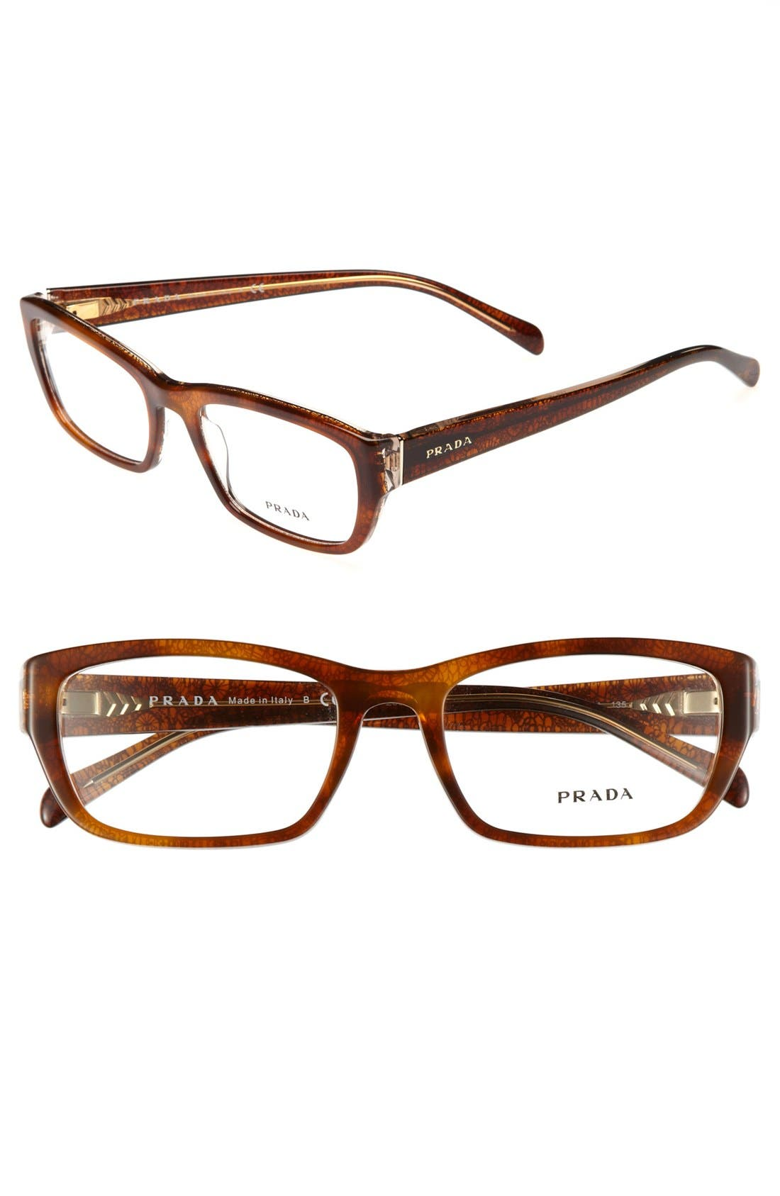 Alternate Image 1 Selected - Prada 52mm Optical Glasses (Online Only)