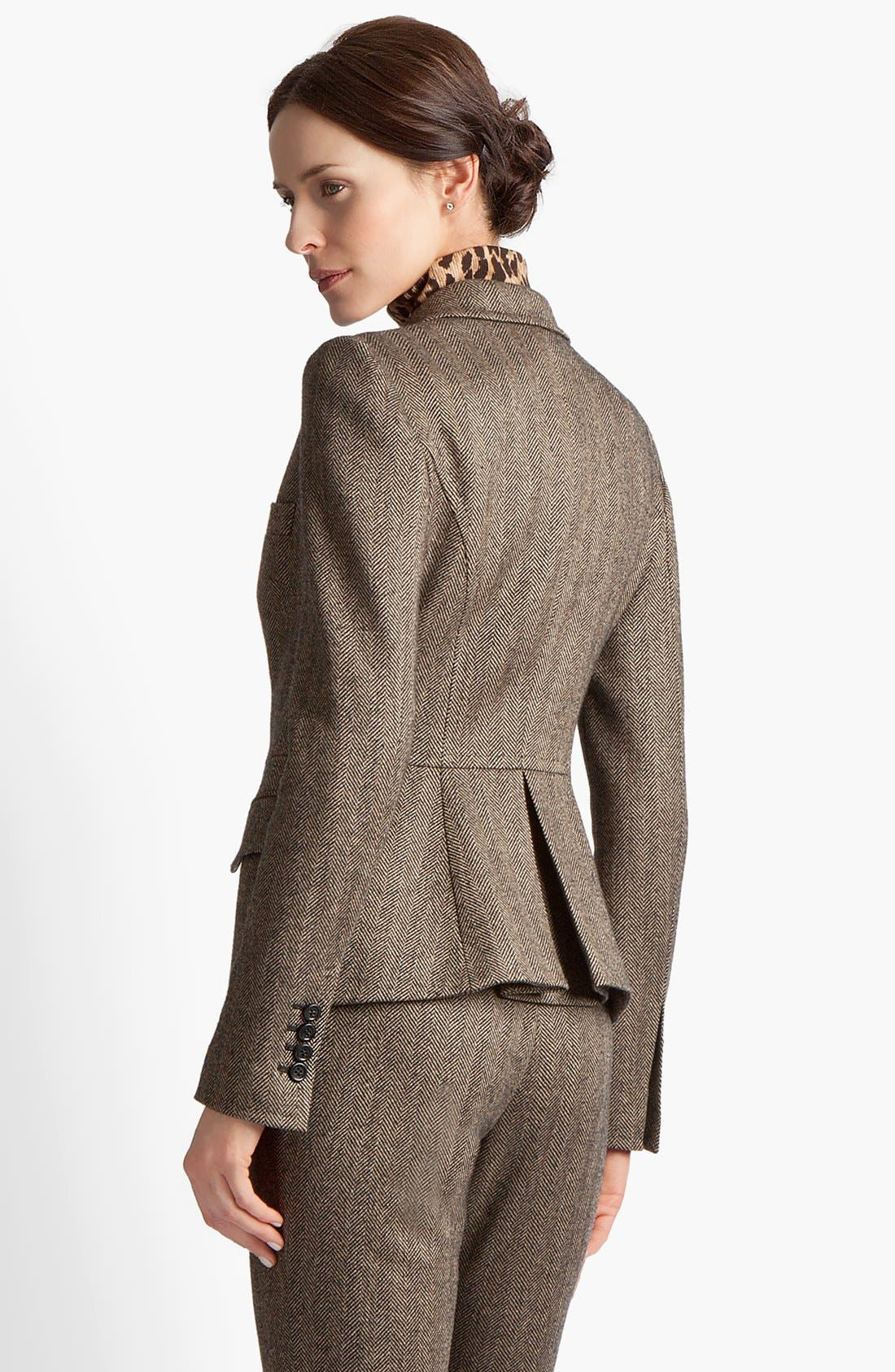Alternate Image 3  - Dolce&Gabbana Stretch Herringbone Jacket