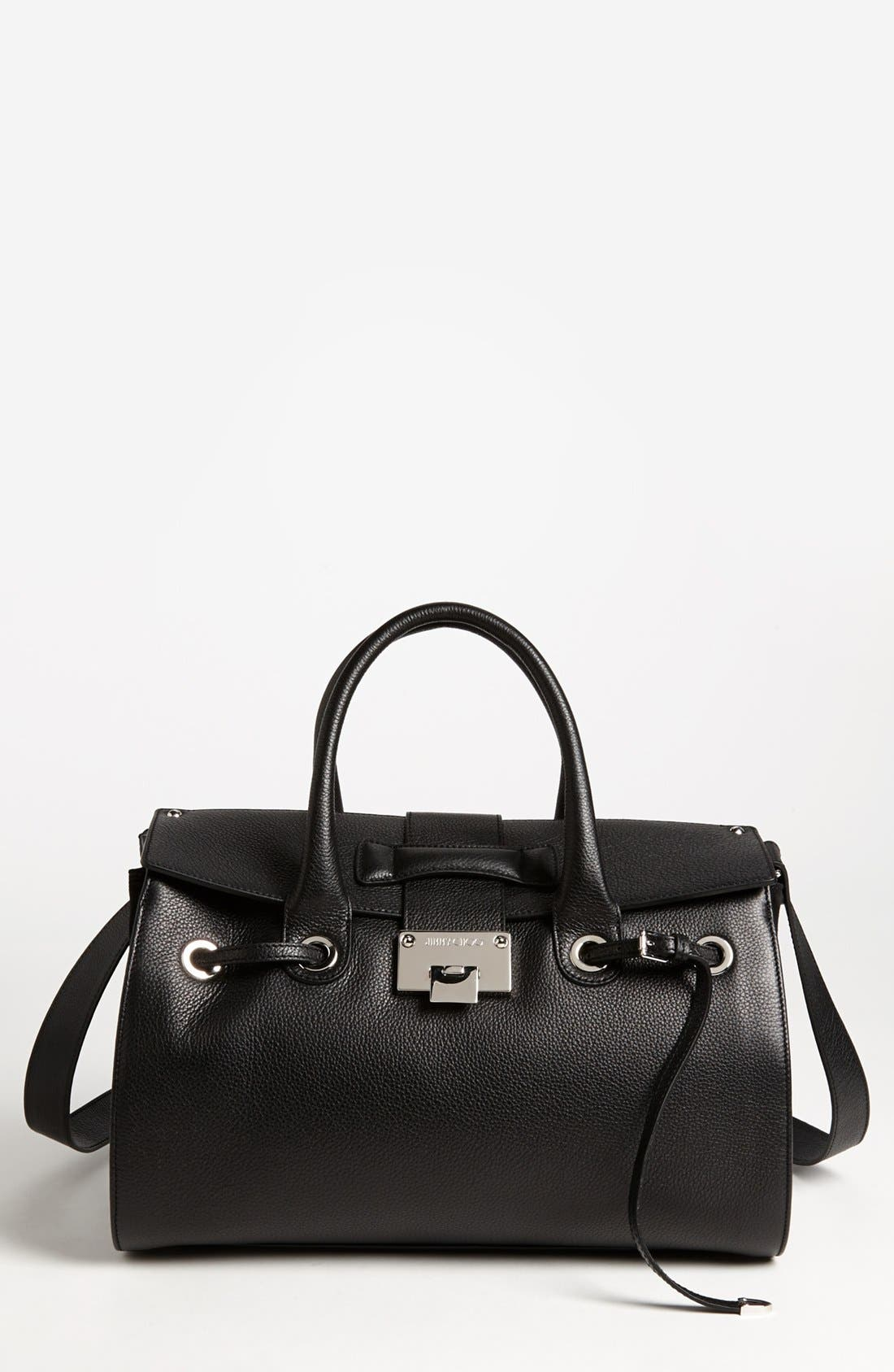 Alternate Image 1 Selected - Jimmy Choo 'Rosa' Leather Satchel