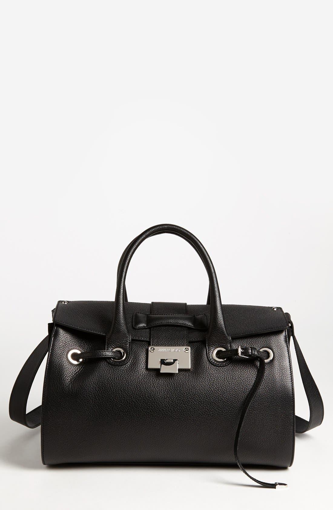 Main Image - Jimmy Choo 'Rosa' Leather Satchel