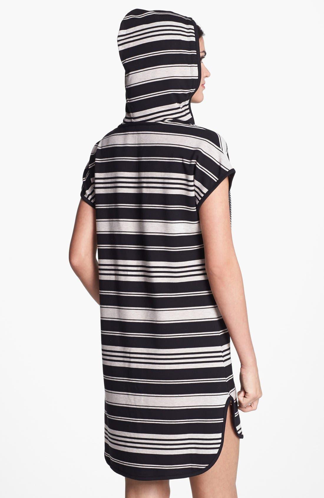 Alternate Image 2  - DKNY 'Poolside' Hooded Tunic