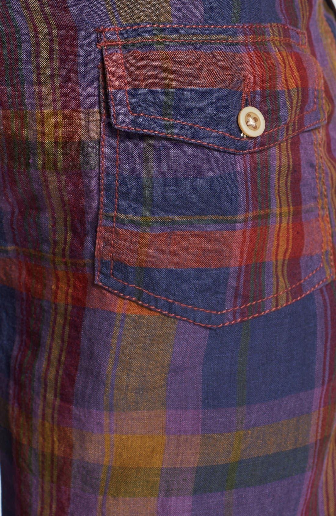 Alternate Image 3  - Shirt by Shirt 'Guam' Plaid Shorts