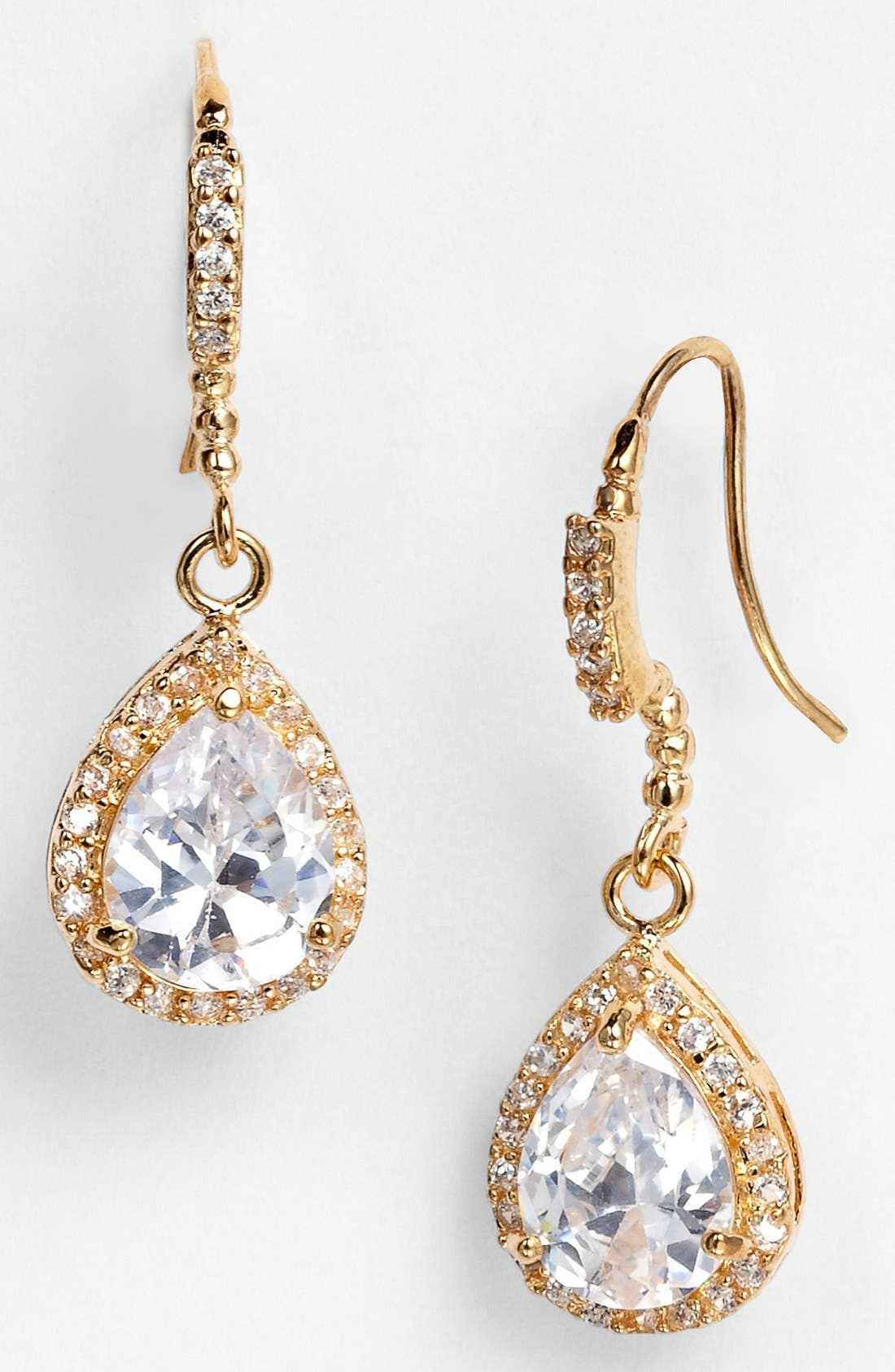 Alternate Image 1 Selected - Nina 'Gale' Teardrop Earrings