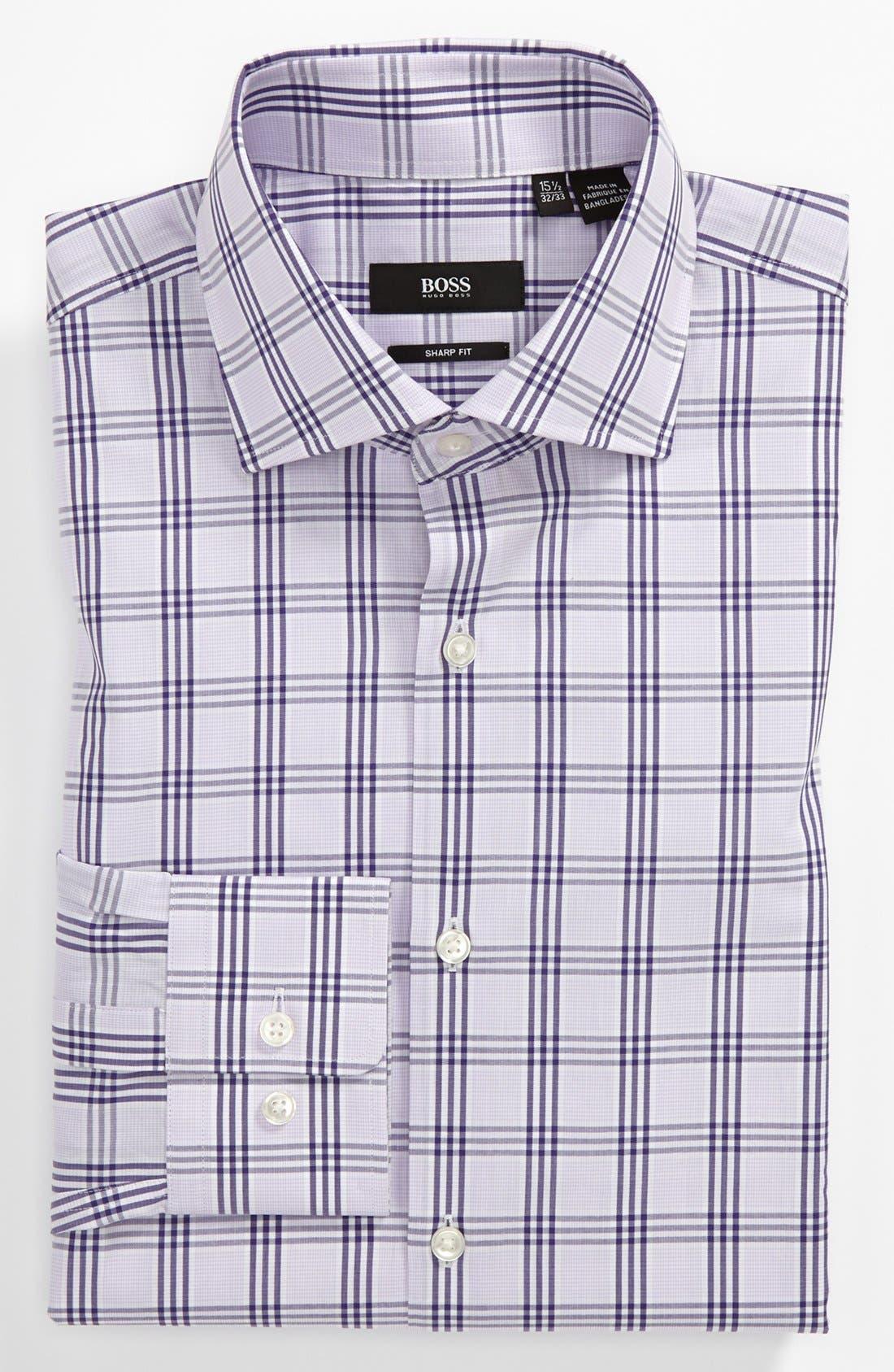 Alternate Image 1 Selected - BOSS HUGO BOSS Sharp Fit Dress Shirt