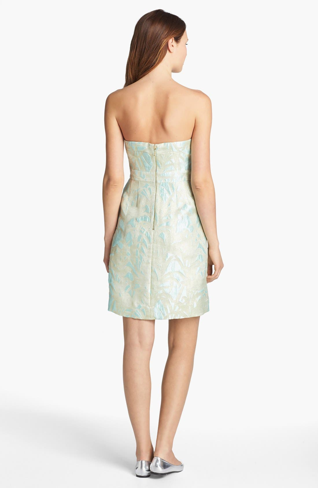 Alternate Image 2  - kate spade new york 'faye' jacquard a-line dress