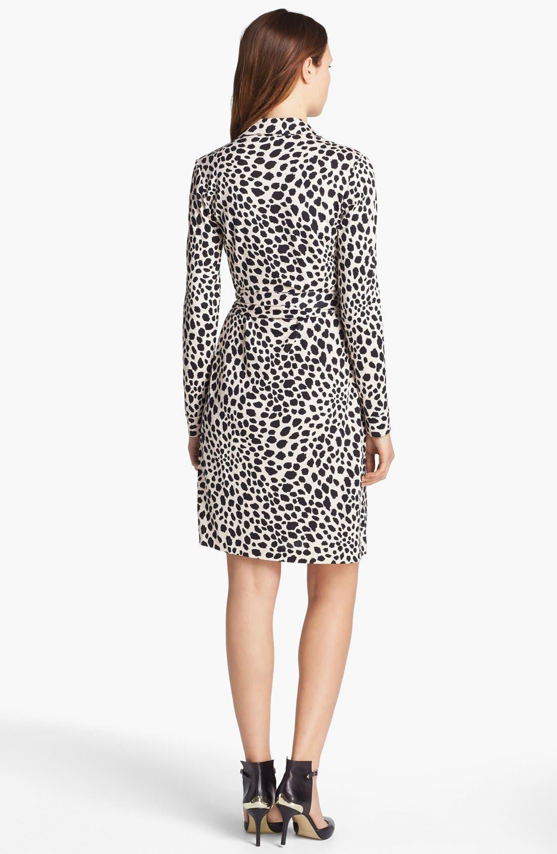 Alternate Image 2  - Diane von Furstenberg 'New Jeanne 2' Silk Jersey Wrap Dress