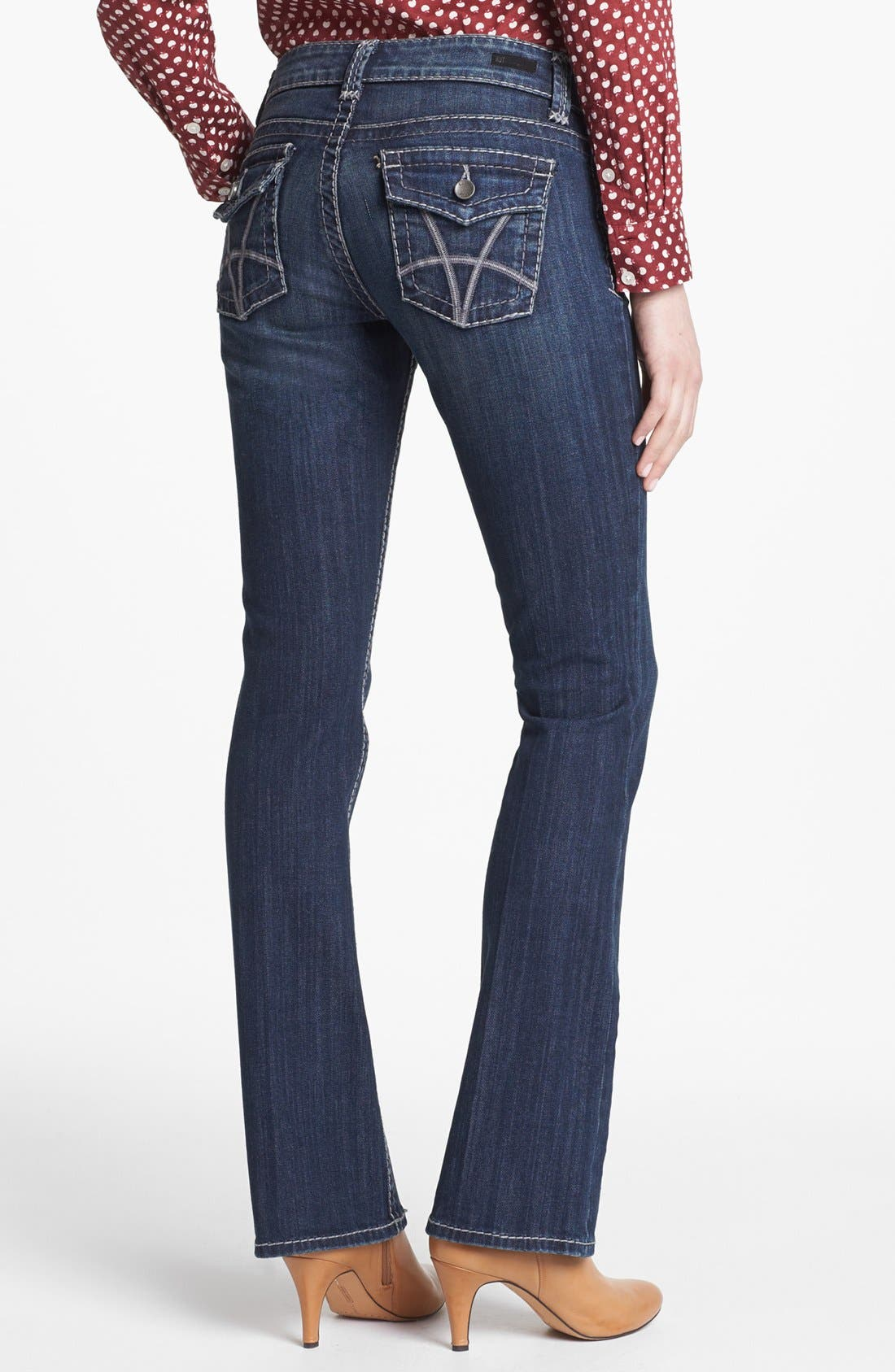 Alternate Image 2  - KUT from the Kloth 'Natalie' Bootcut Jeans (Invisible)