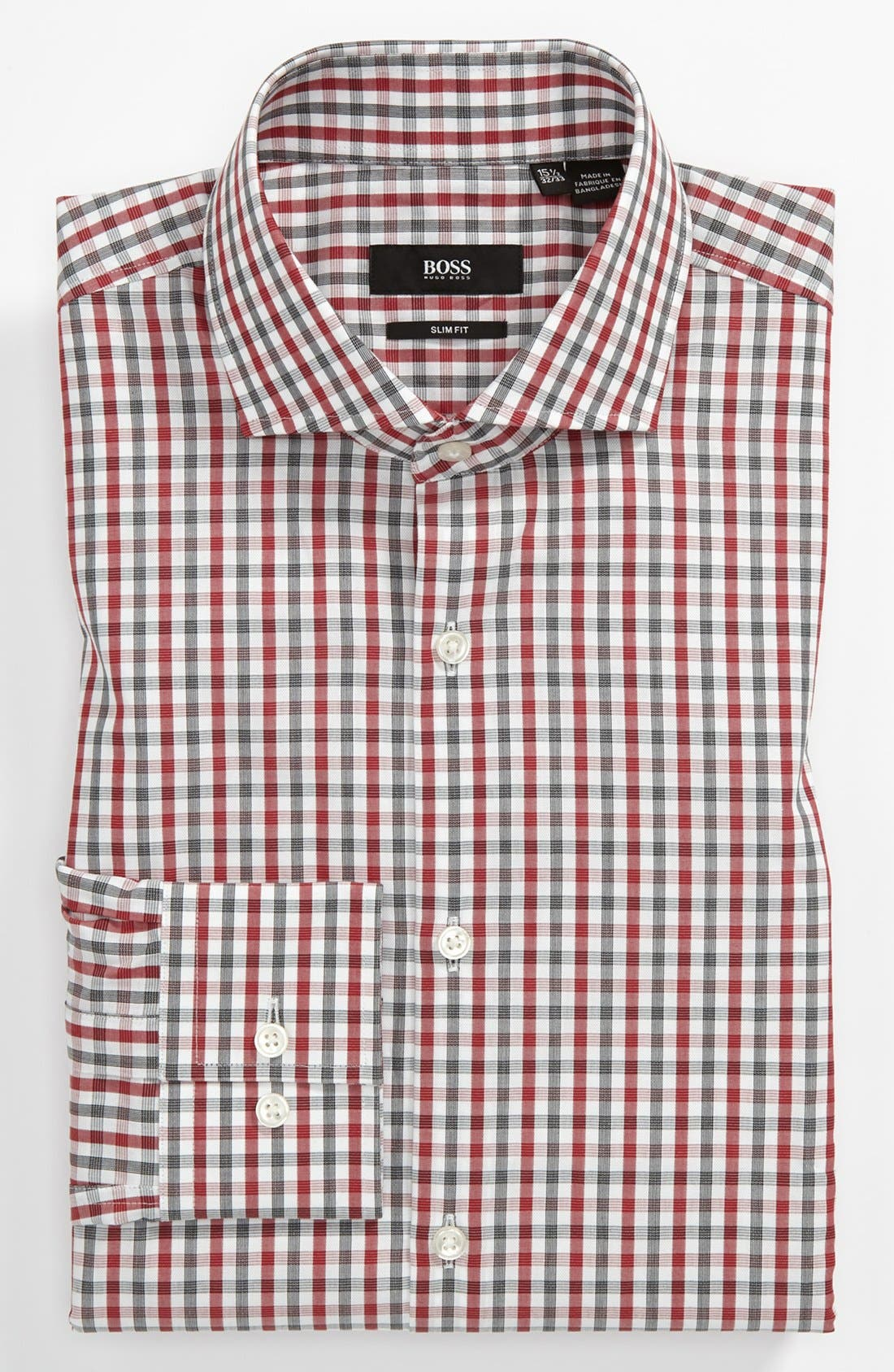 Main Image - BOSS HUGO BOSS 'Jason' Slim Fit Dress Shirt