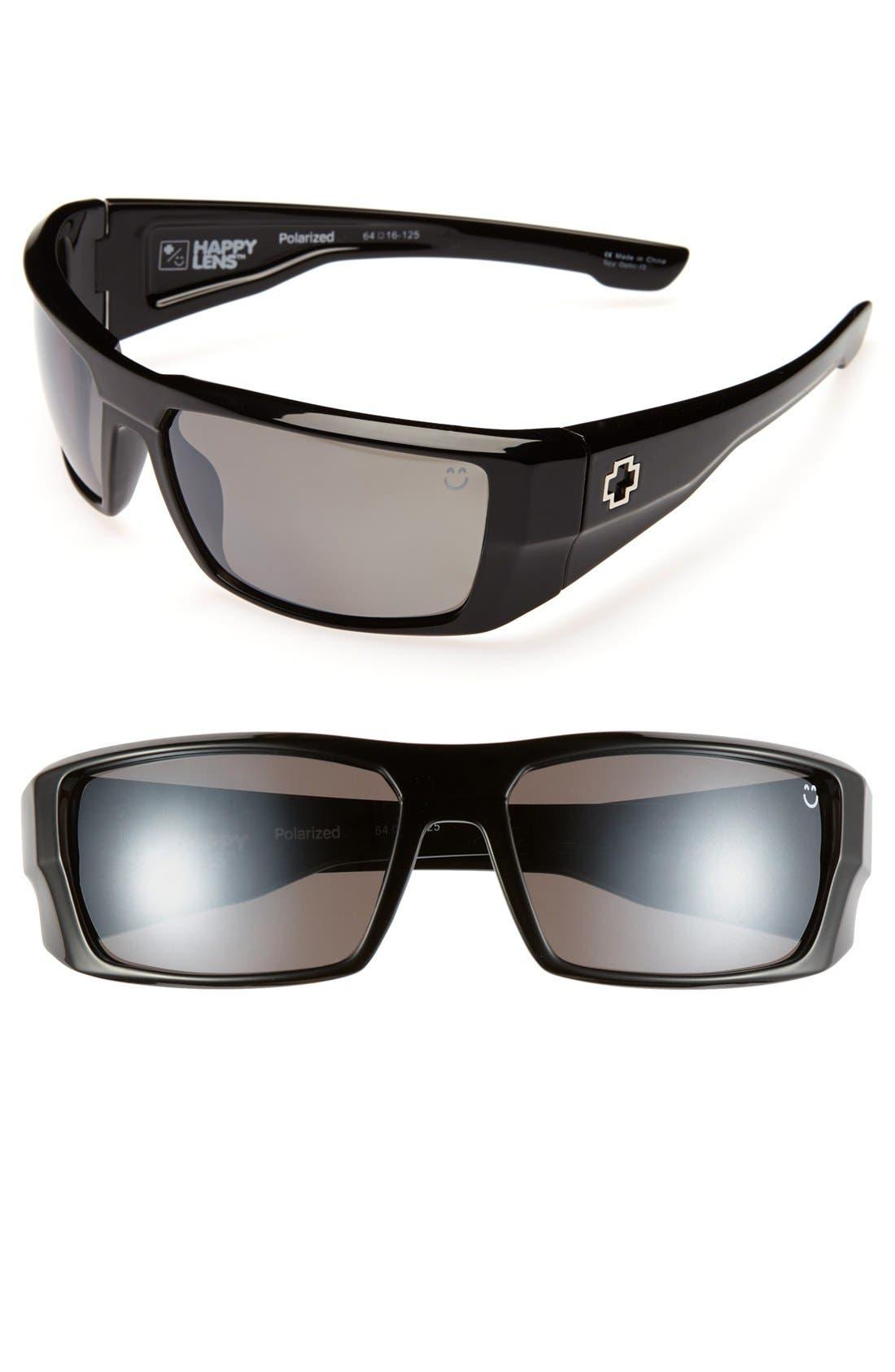 Main Image - SPY Optic 'Dirk' 64mm Polarized Sunglasses