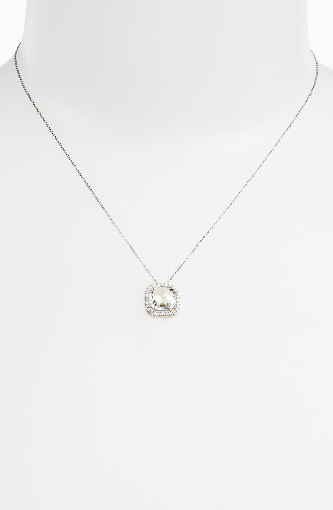 Alternate Image 1 Selected - KALAN by Suzanne Kalan Sapphire Bezel Pendant Necklace