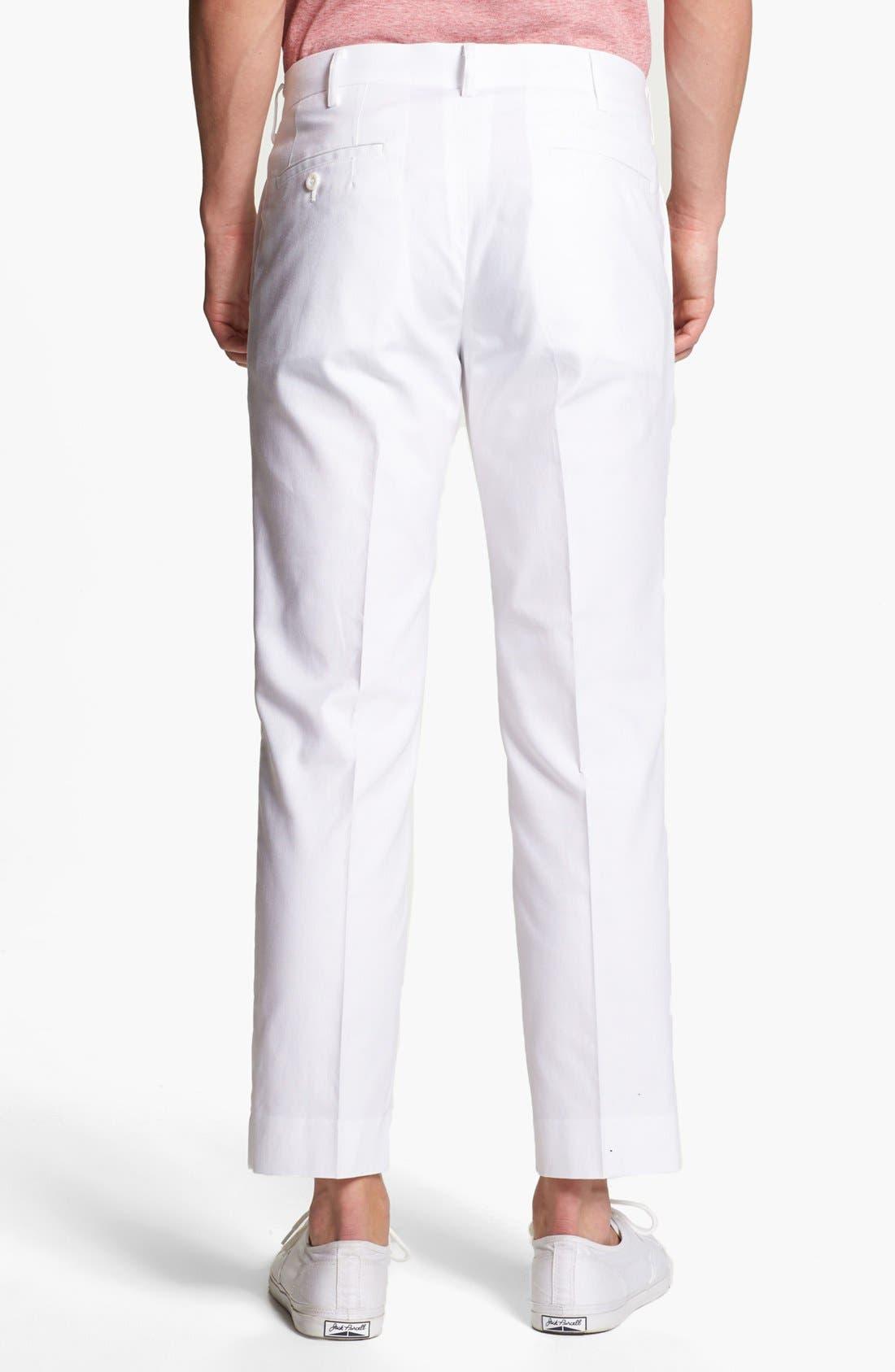 Alternate Image 2  - Junya Watanabe Crop Oxford Pants