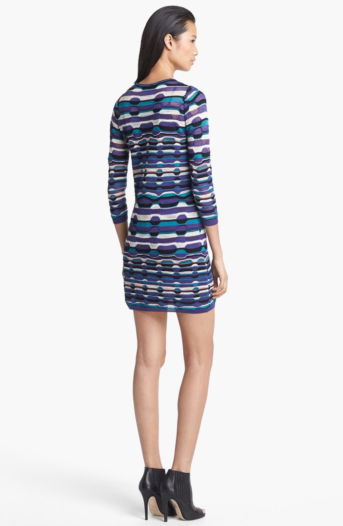 Alternate Image 2  - M Missoni Ladder Stripe Dress