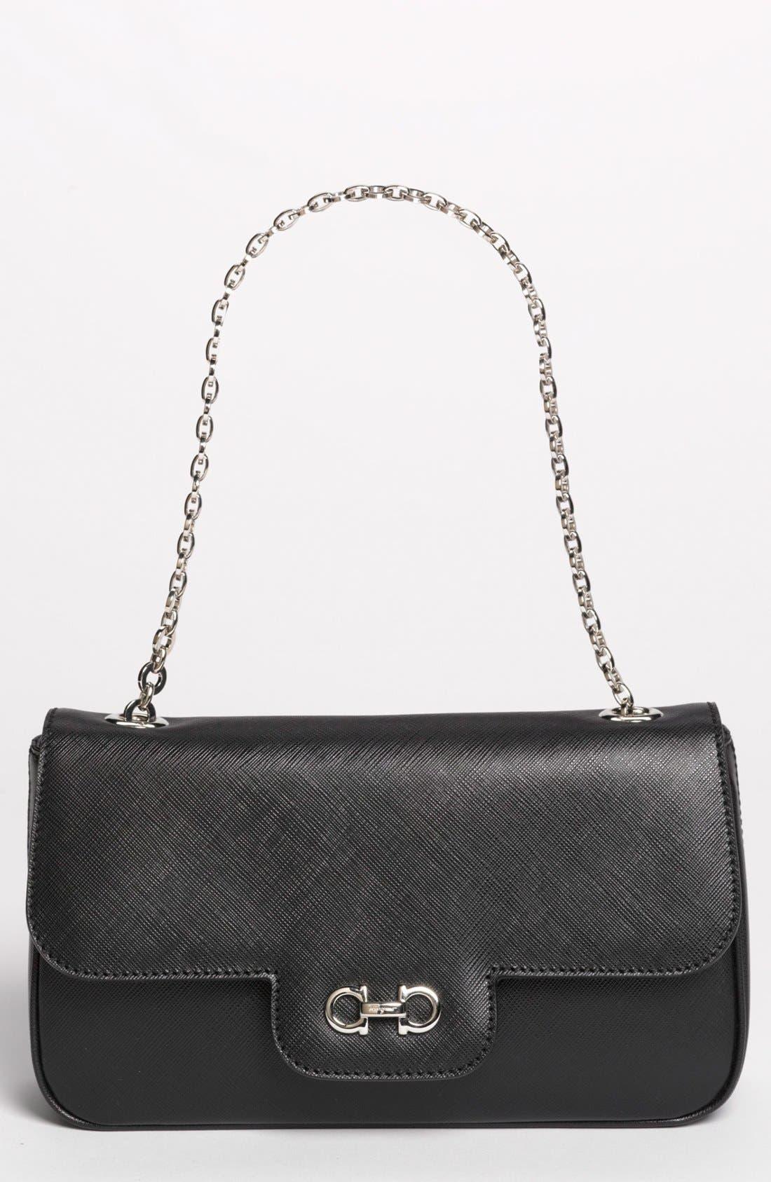Alternate Image 1 Selected - Salvatore Ferragamo 'Luciana' Leather Shoulder Bag