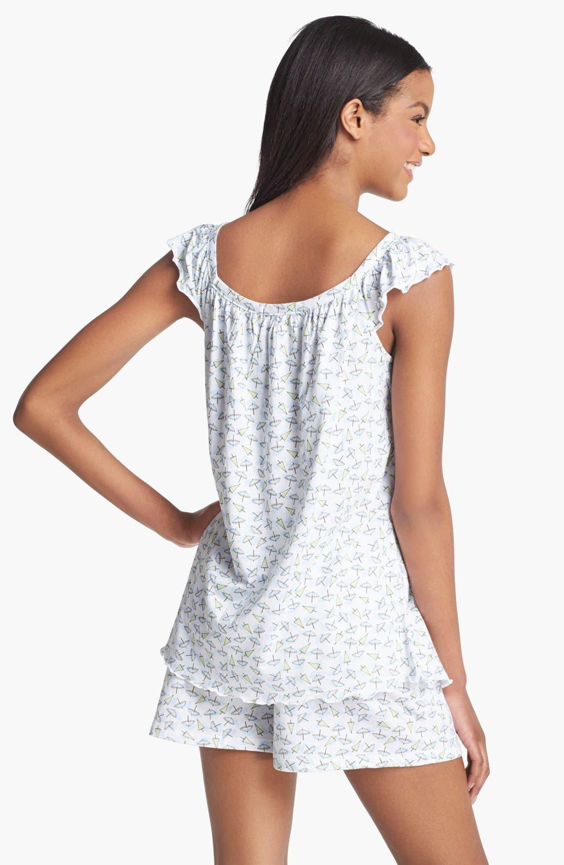 Alternate Image 2  - Carole Hochman Designs 'Summer' Short Pajamas
