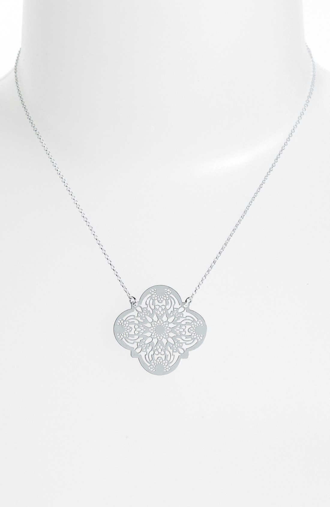Alternate Image 1 Selected - Argento Vivo Pendant Necklace (Online Only)