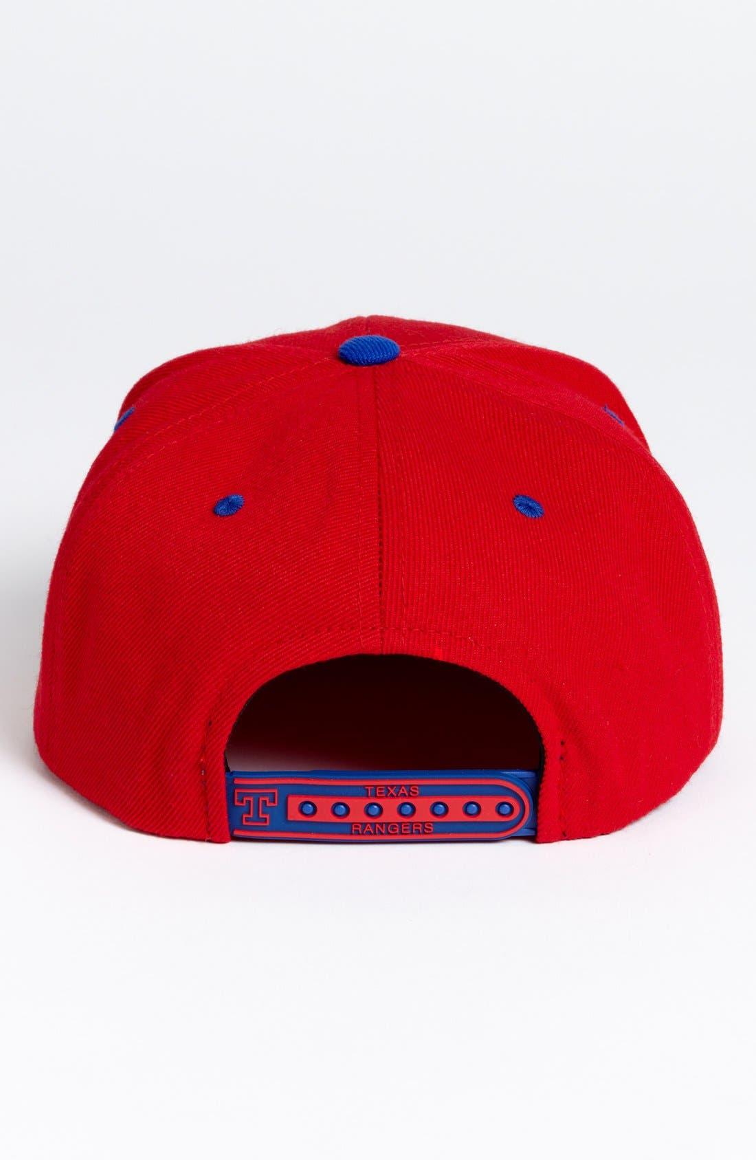 Alternate Image 2  - American Needle 'Texas Rangers - Back 2 Front' Snapback Baseball Cap