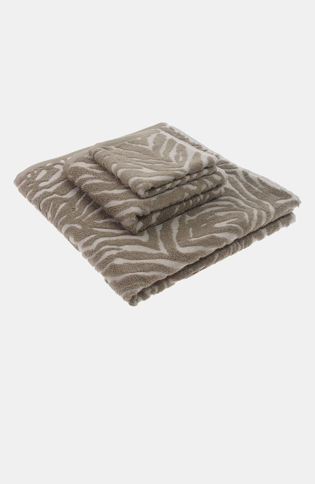Alternate Image 2  - Nordstrom at Home Animal Jacquard Hand Towel