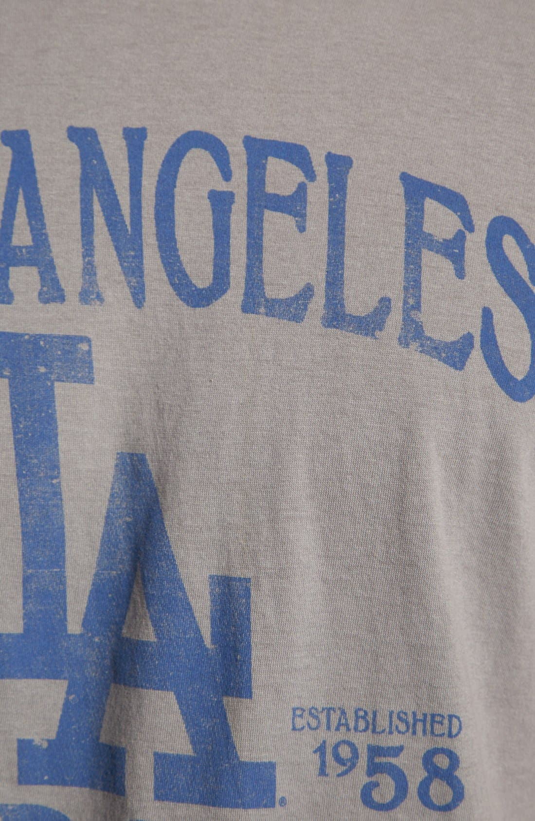 Alternate Image 3  - 47 Brand 'Los Angeles Dodgers - Flanker' T-Shirt