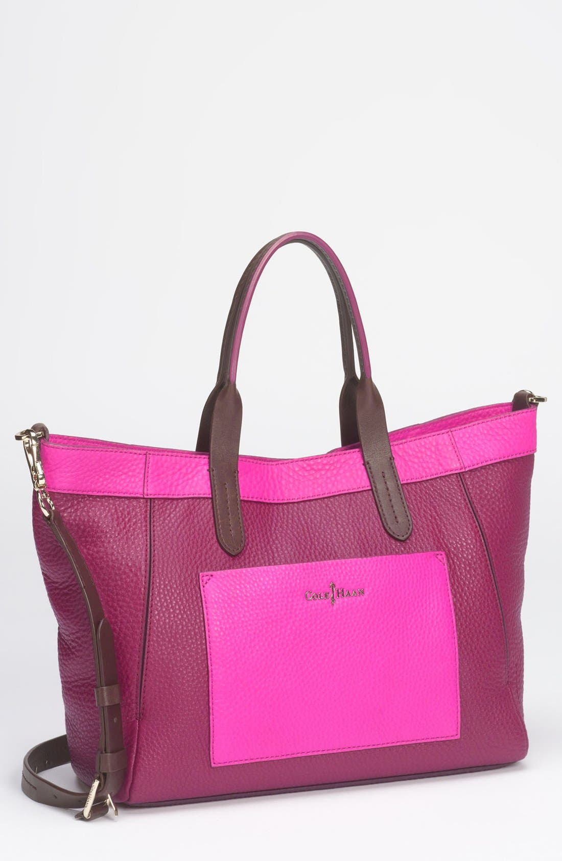 Alternate Image 1 Selected - Cole Haan 'Crosby Colorblock - Small' Shopper