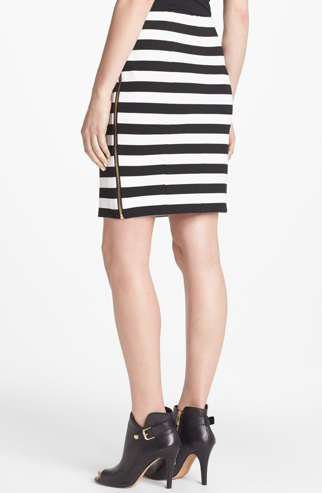 Alternate Image 2  - Vince Camuto Side Zip Pencil Skirt