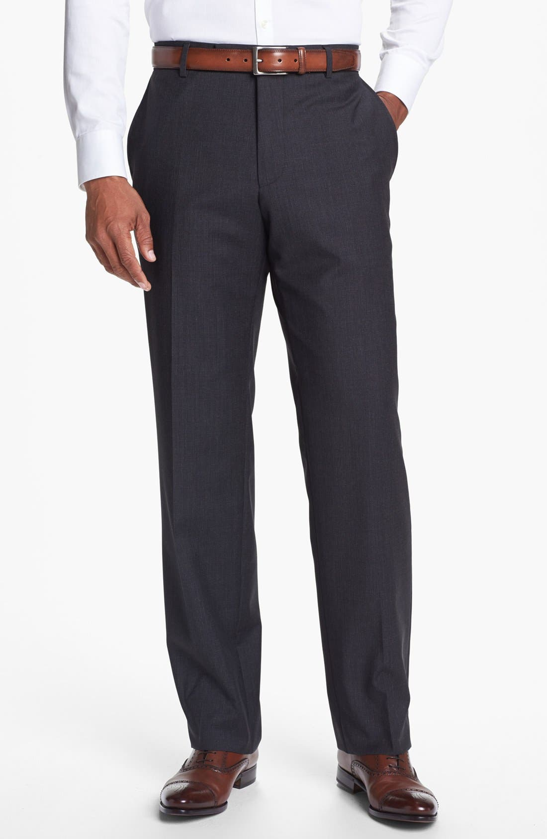 Alternate Image 1 Selected - BOSS HUGO BOSS 'James' Wool Trousers