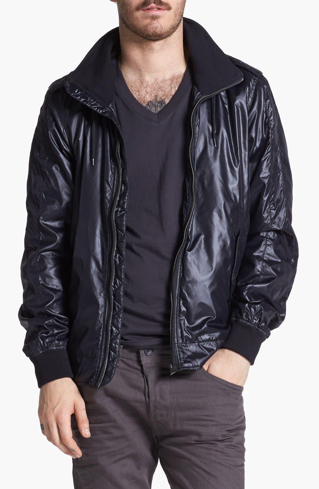 Alternate Image 1 Selected - DIESEL® 'J-Webb' Nylon Jacket