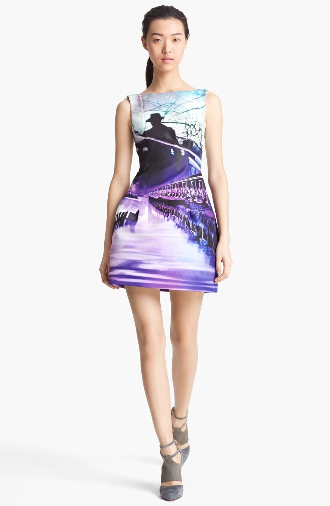 Alternate Image 1 Selected - Mary Katrantzou Sleeveless Print Dress