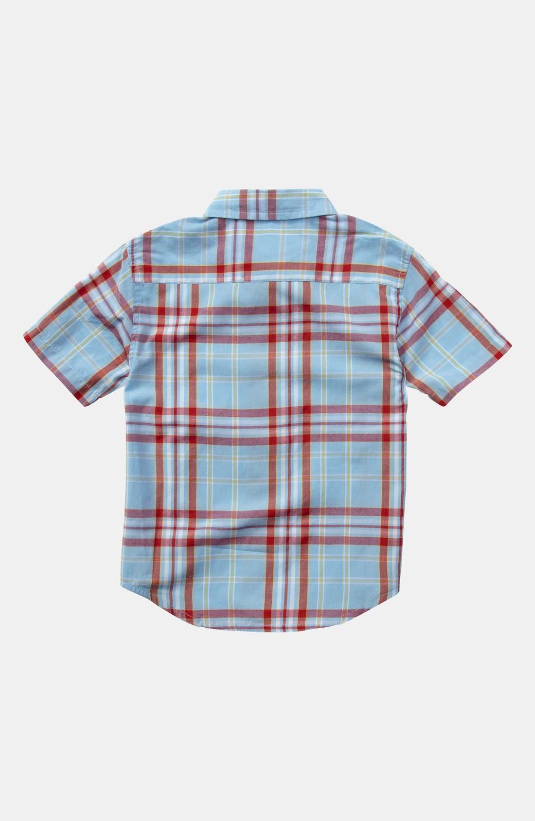 Alternate Image 2  - Quiksilver 'Uncle Pat' Plaid Shirt (Baby Boys)