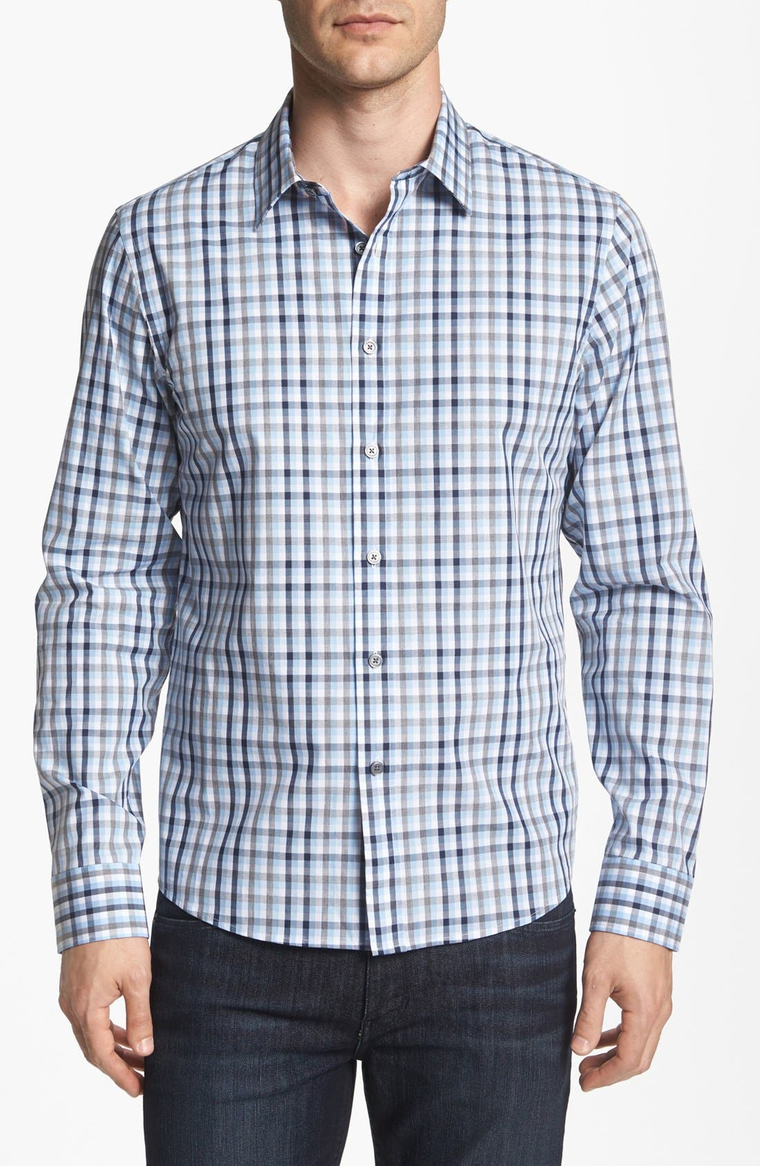 Alternate Image 1 Selected - Michael Kors Regular Fit Sport Shirt