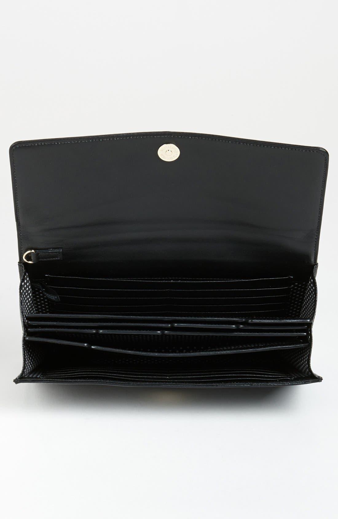 Alternate Image 2  - Halogen® Saffiano Leather Clutch