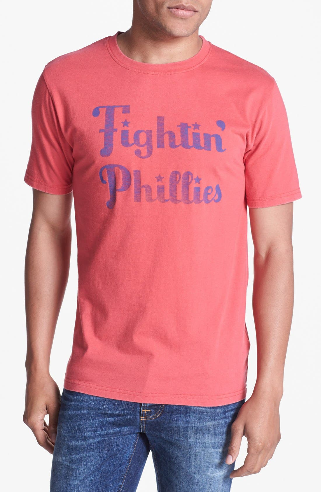Alternate Image 1 Selected - Red Jacket 'Phillies - Reversal' T-Shirt