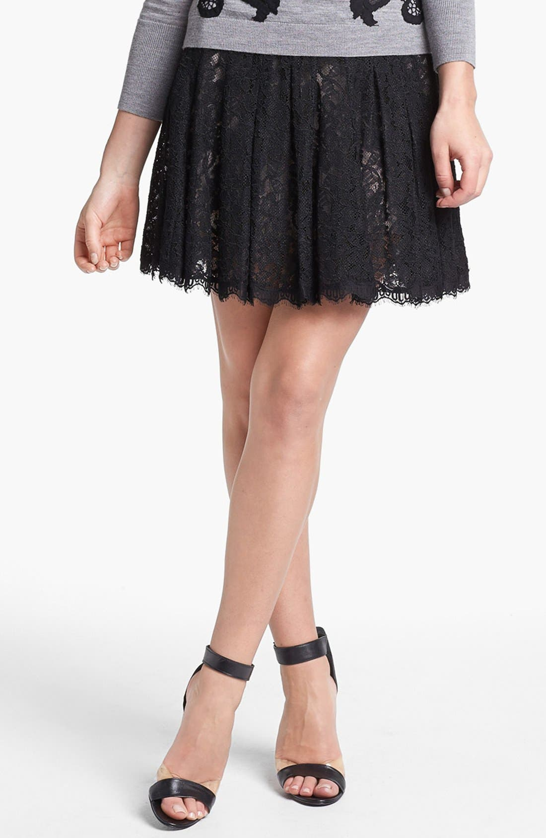 Alternate Image 1 Selected - Diane von Furstenberg 'Kiernan' Lace Skirt