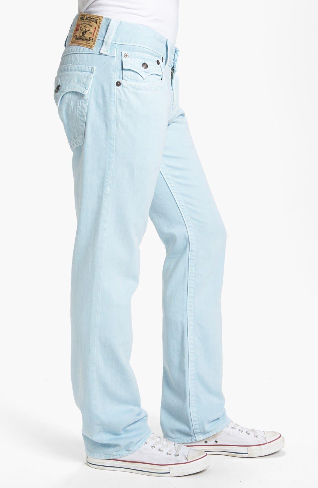 Alternate Image 3  - True Religion Brand Jeans 'Ricky' Straight Leg Pants