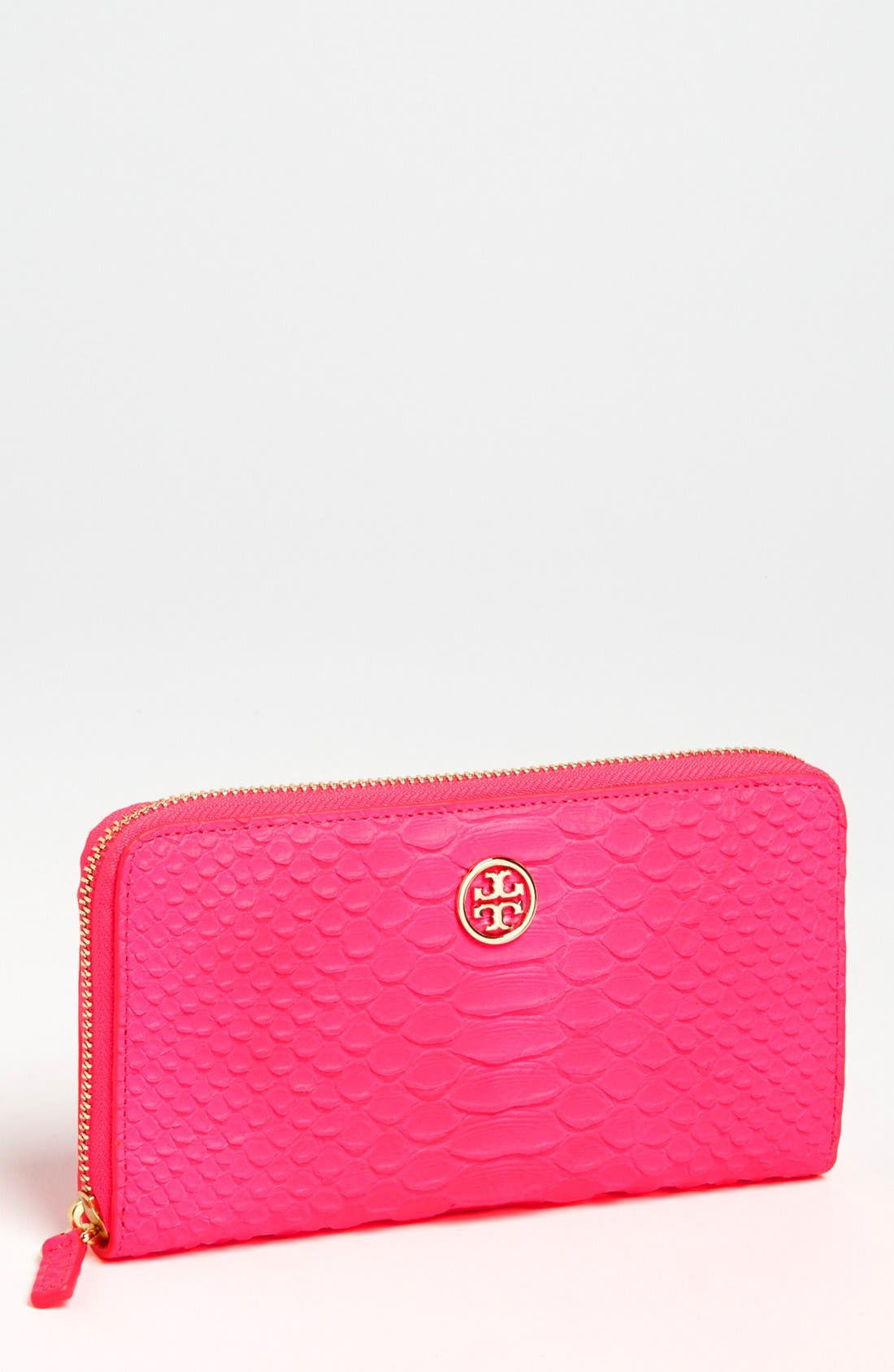 Main Image - Tory Burch 'Snake' Continental Wallet