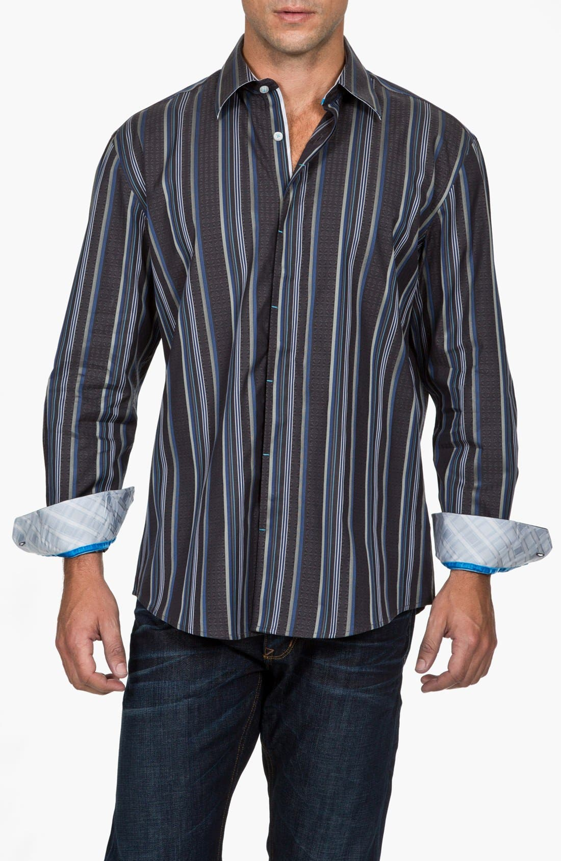 Alternate Image 1 Selected - Zagiri Regular Fit Sport Shirt