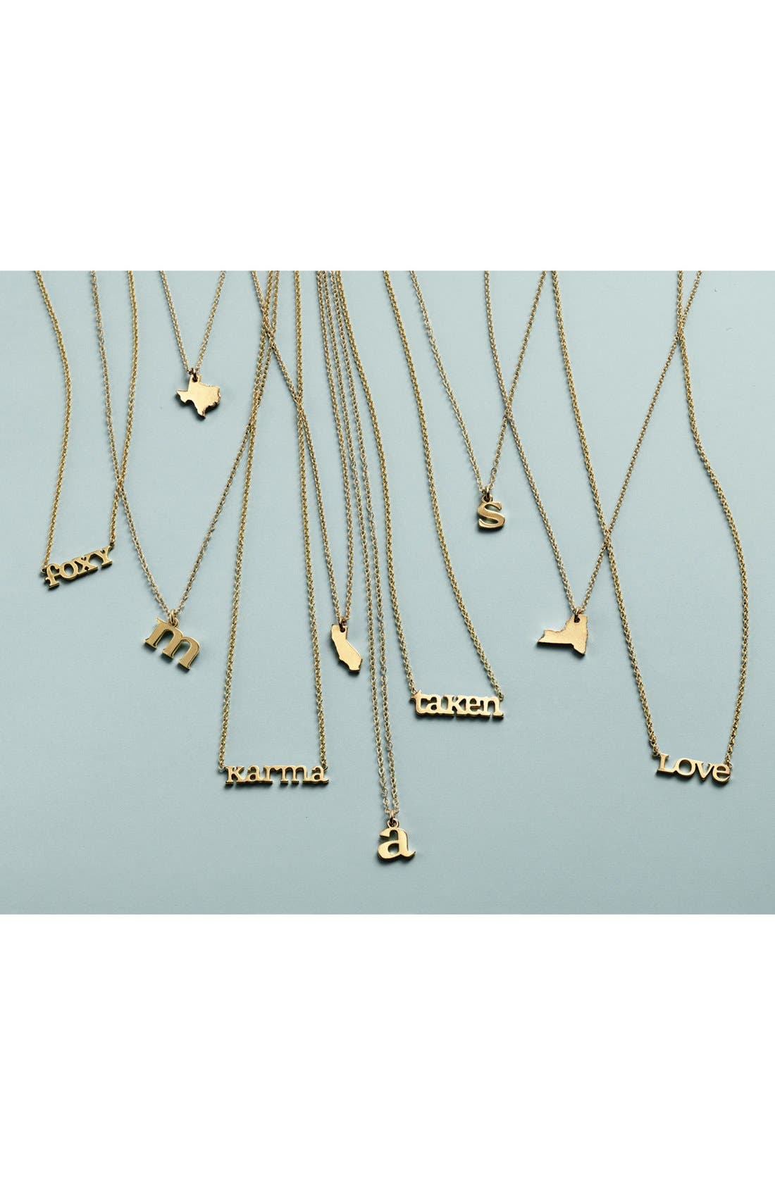 Alternate Image 3  - Dogeared 'Words to Live By - Love' Pendant Necklace