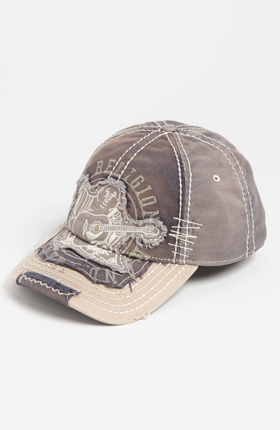 Alternate Image 1 Selected - True Religion Brand Jeans 'Big Buddha' Baseball Cap