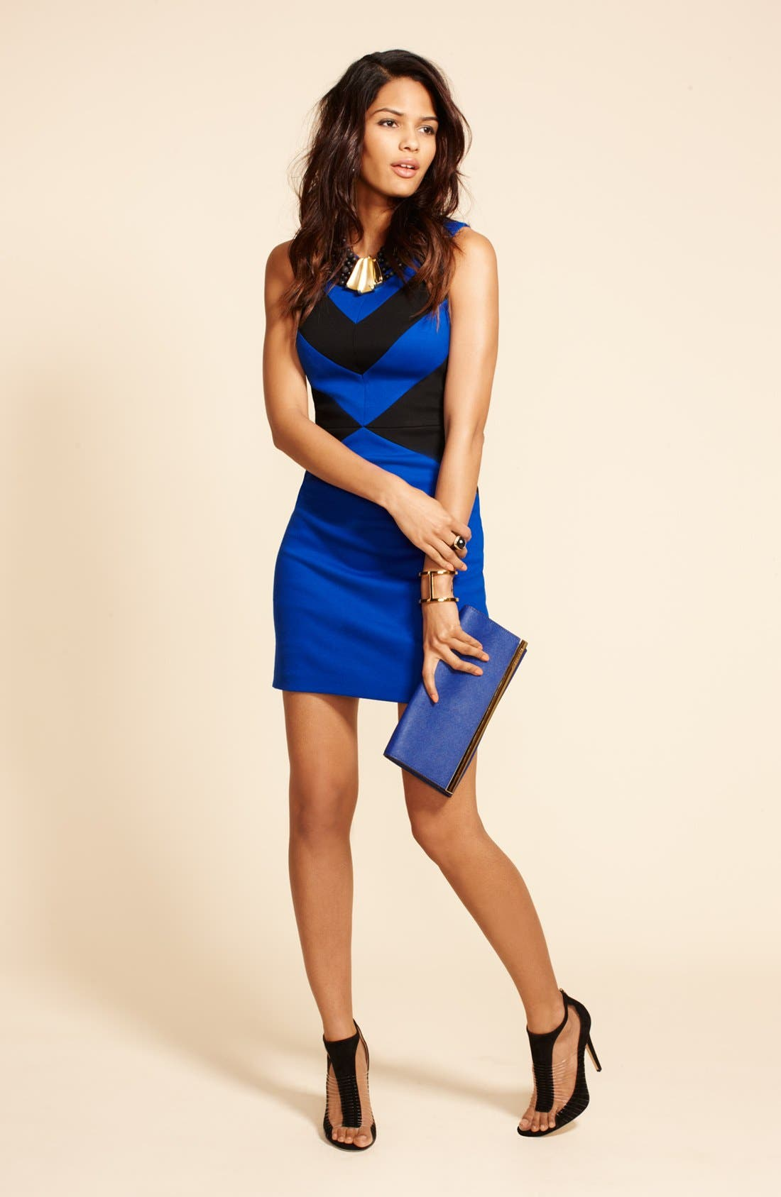Alternate Image 5  - Cynthia Steffe 'Elizabeth' Sleeveless Colorblock Sheath Dress
