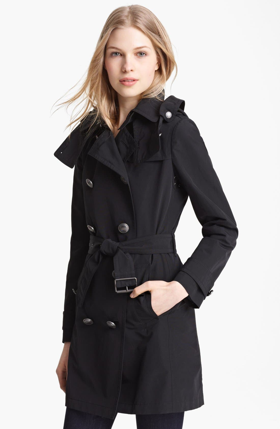 Alternate Image 1 Selected - Burberry Brit 'Balmoral' Trench Coat