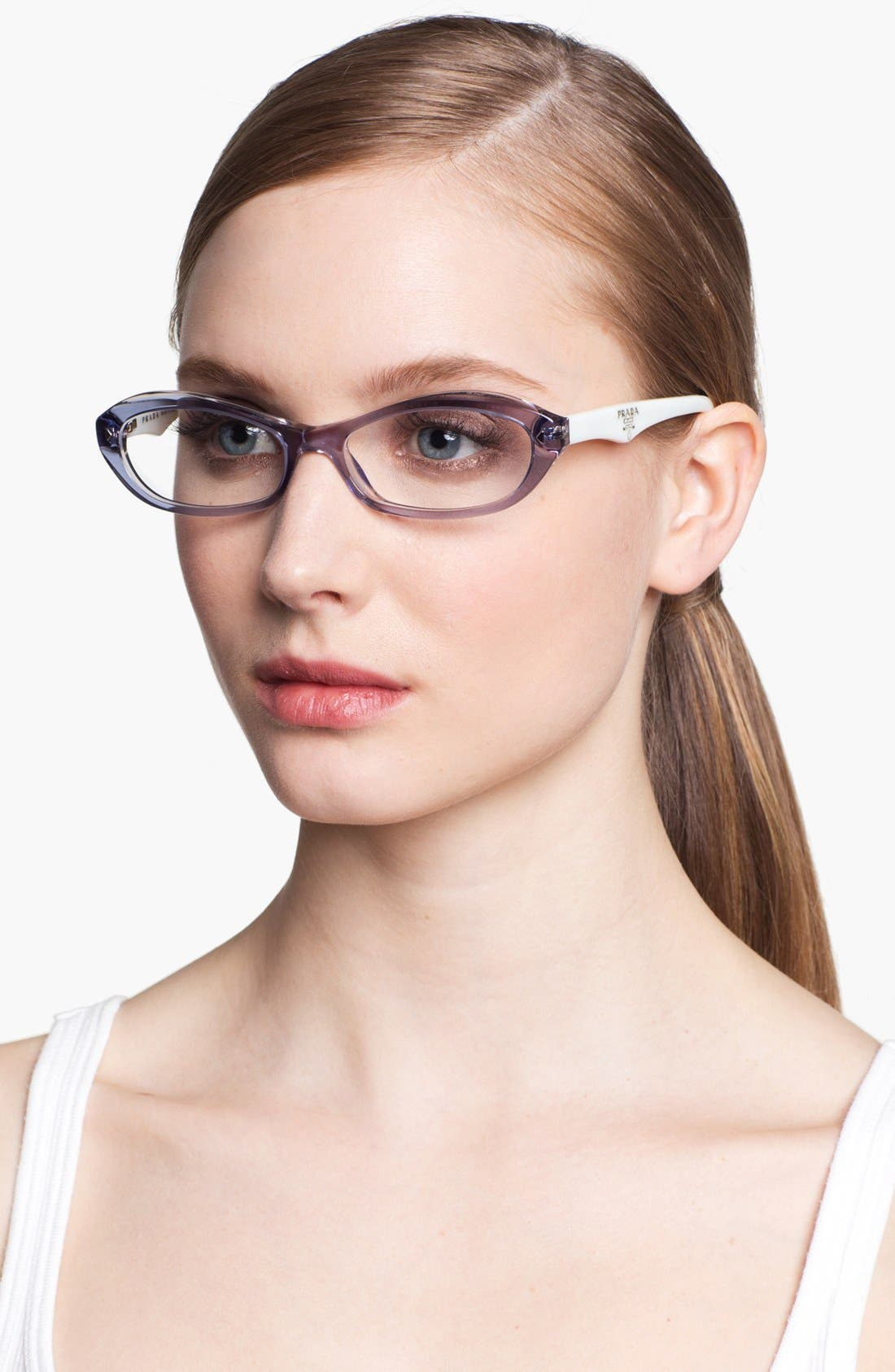 Alternate Image 2  - Prada 52mm Optical Glasses (Online Only)