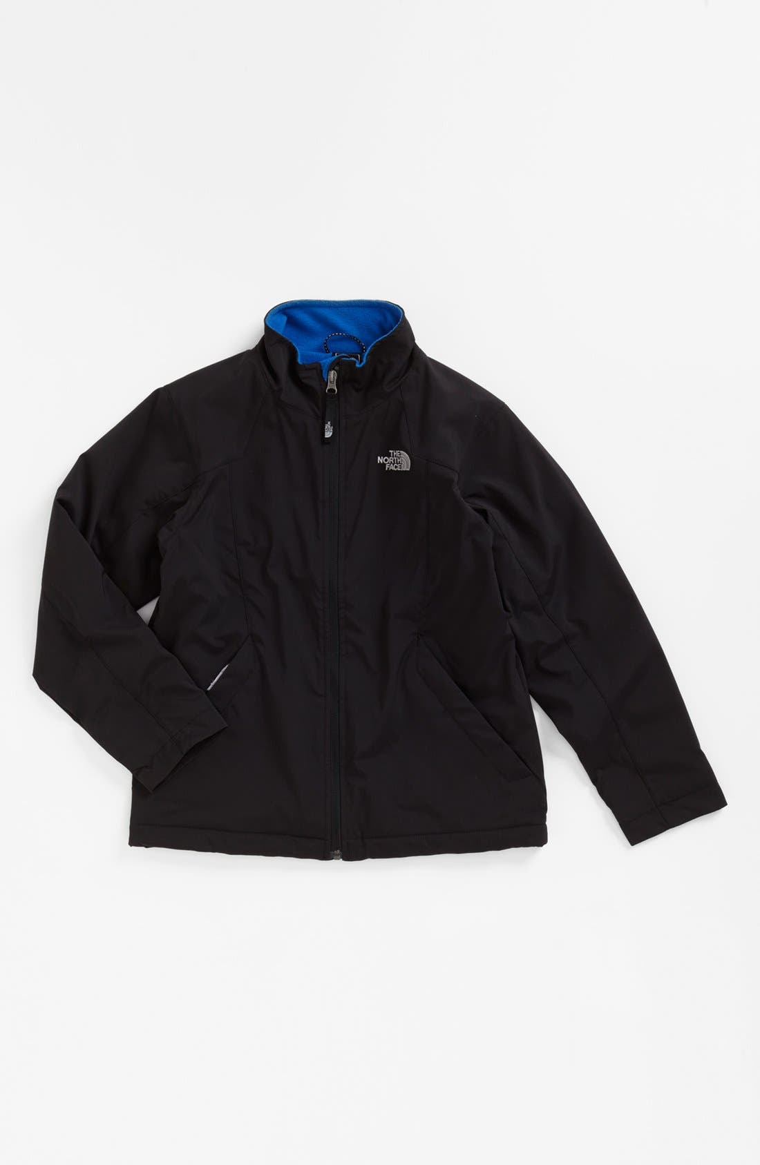 Alternate Image 1 Selected - The North Face 'Long Distance' Soft Shell Jacket (Big Boys)