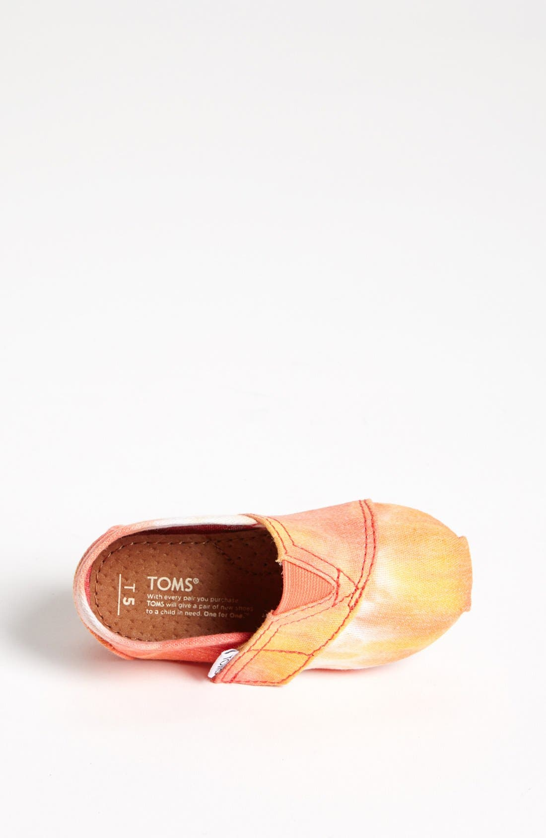 Alternate Image 3  - TOMS 'Classic Tiny - Tie Dye' Slip-On (Baby, Walker & Toddler) (Nordstrom Exclusive)