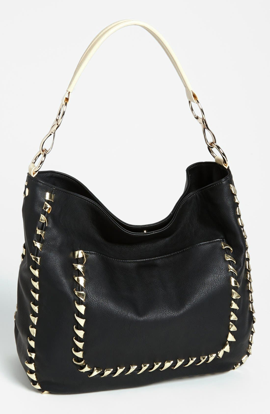 Main Image - Big Buddha 'Alba' Hobo Bag, Large