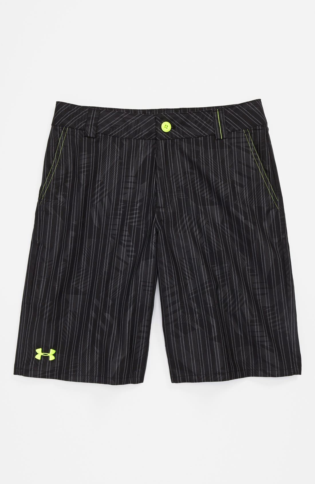 Alternate Image 1 Selected - Under Armour 'Forged' Shorts (Big Boys)