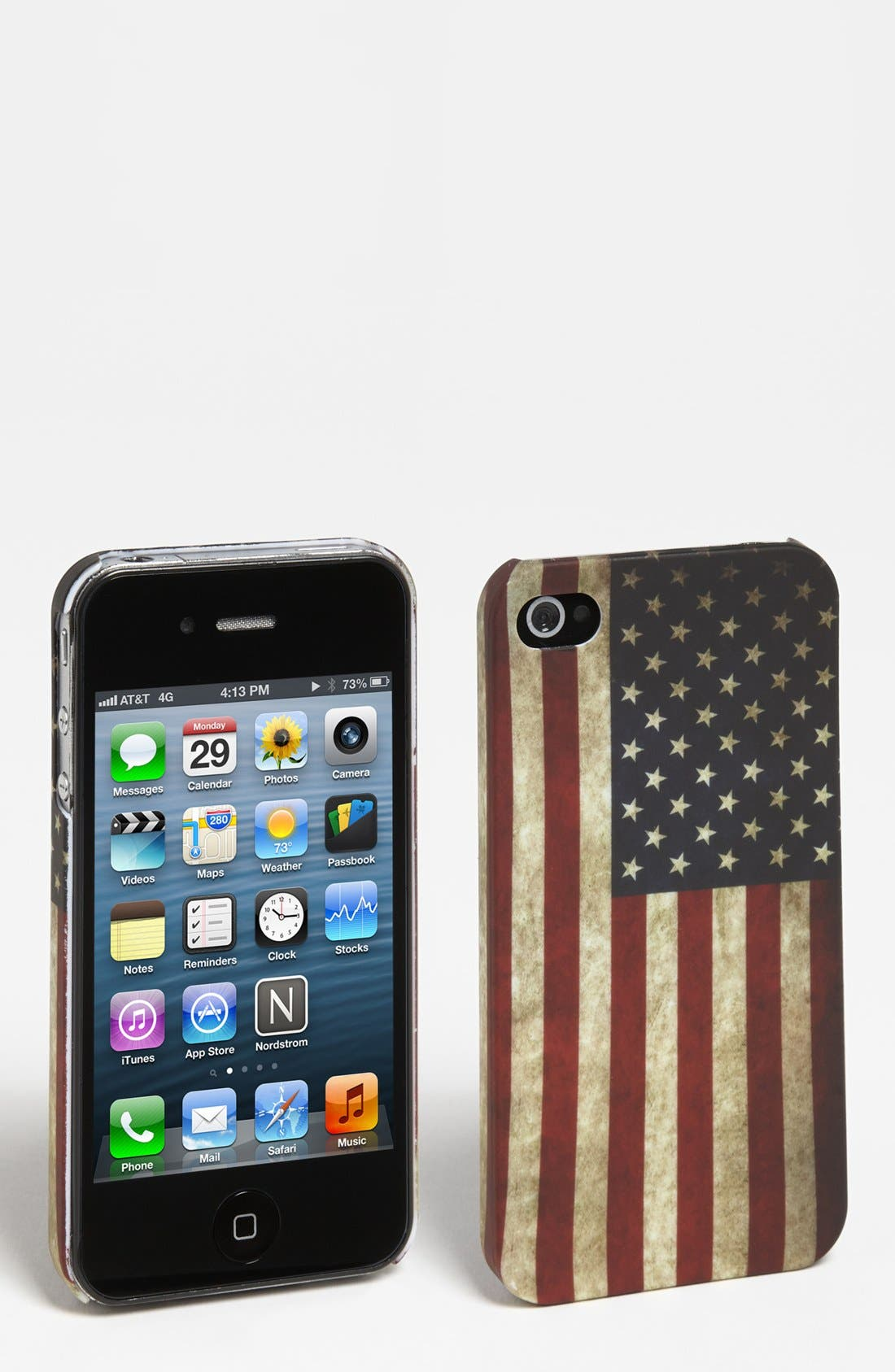 Alternate Image 1 Selected - BP. American Flag iPhone 4 Case