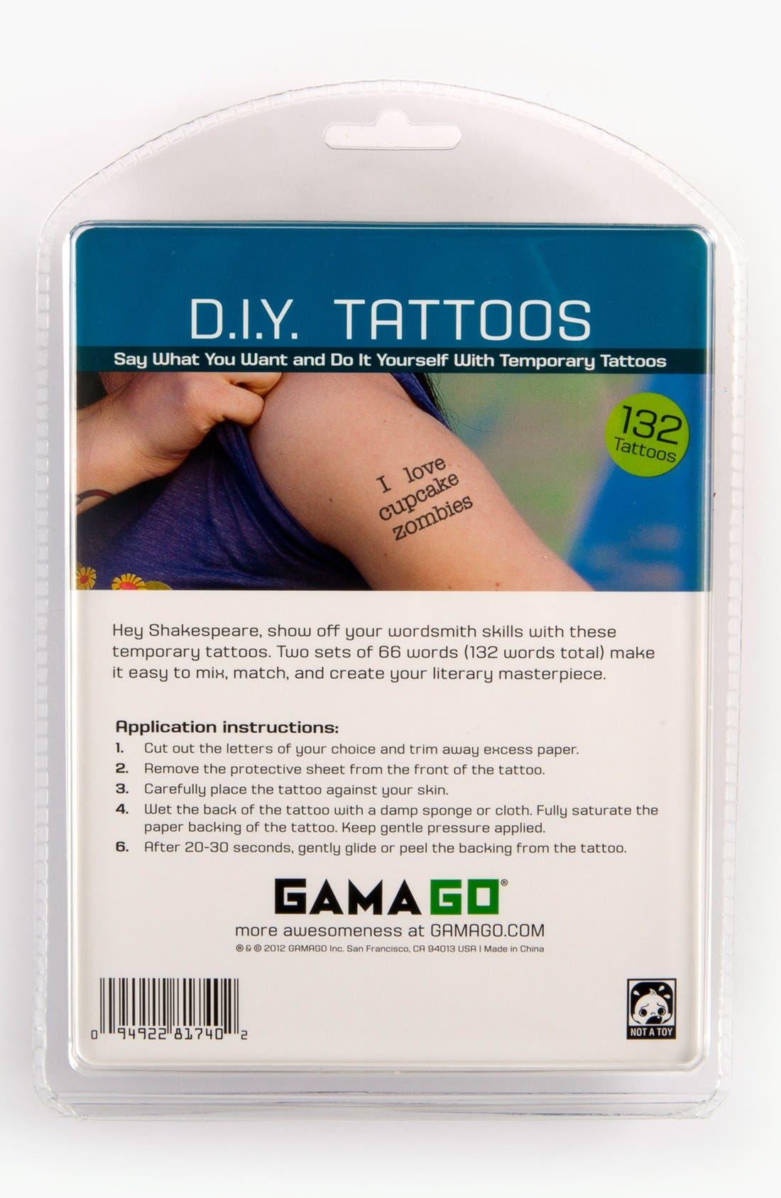 Alternate Image 2  - DIY Temporary Tattoos (Set of 132)