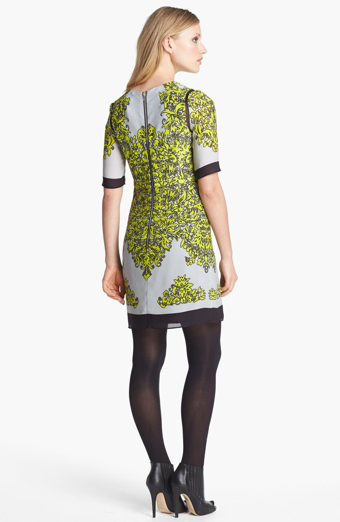 Alternate Image 2  - Milly 'Blaire' Silk Sheath Dress