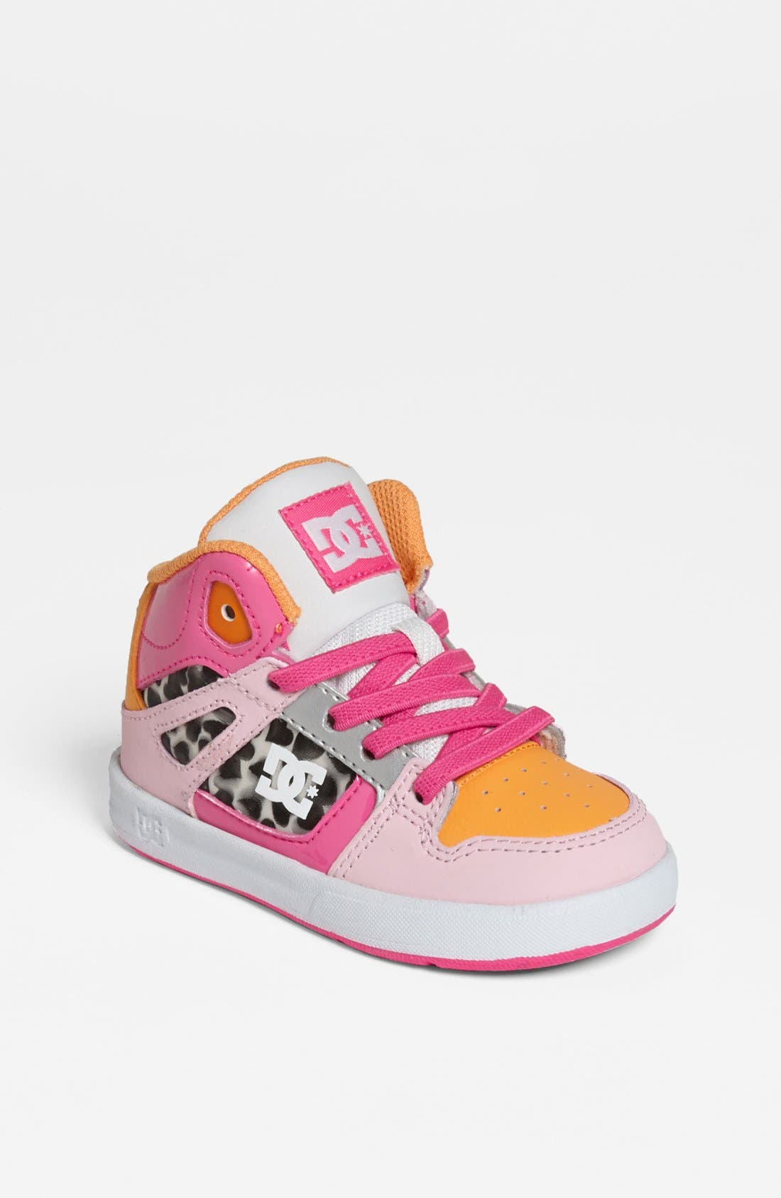 Alternate Image 1 Selected - DC Shoes 'Rebound' Sneaker (Walker & Toddler)