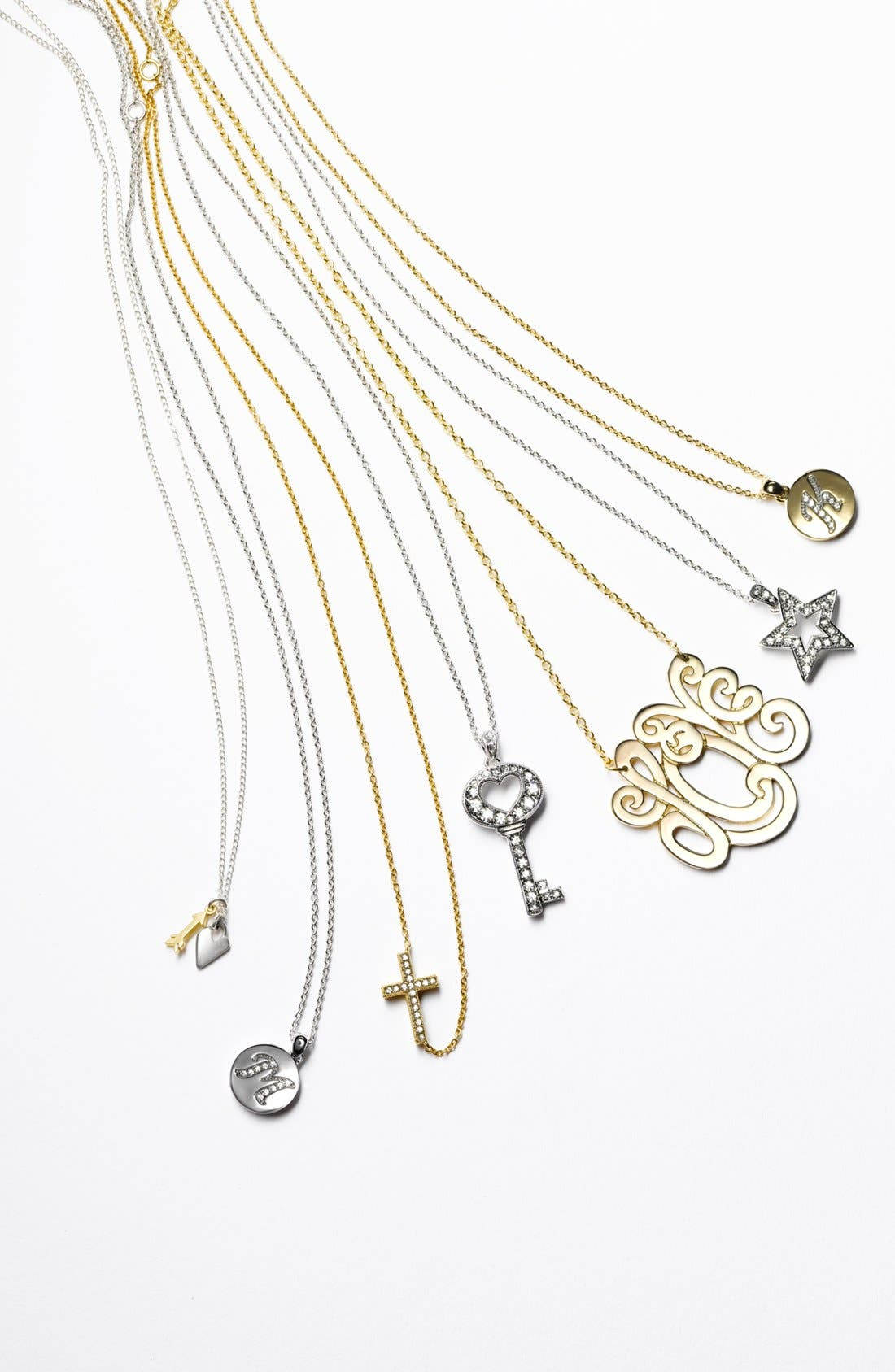 Alternate Image 3  - Dogeared Clover & Wishbone Cluster Pendant Necklace (Nordstrom Exclusive)